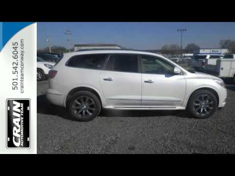New 2016 Buick Enclave Conway AR Little Rock, AR #6BT7749 - SOLD