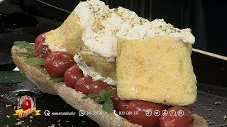 Roll di frittata con ricotta e menta - A Casa Tua Show Cooking 2017