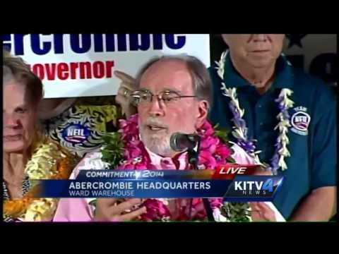 Gov. Abercrombie concedes to Ige