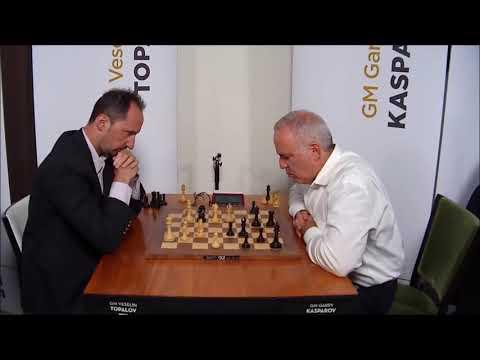 GM Topalov (Bulgaria) - GM Kasparov (Russia) FF Fisher Chess