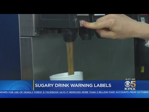 California Bill To Require Warning Labels On Sodas, Other Sugary Drinks Advances
