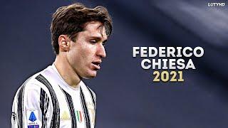 Federico Chiesa 2021 - The Complete Striker   Skills & Goals