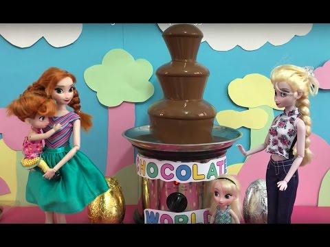 Elsa Vs Maleficent Chocolate Cake