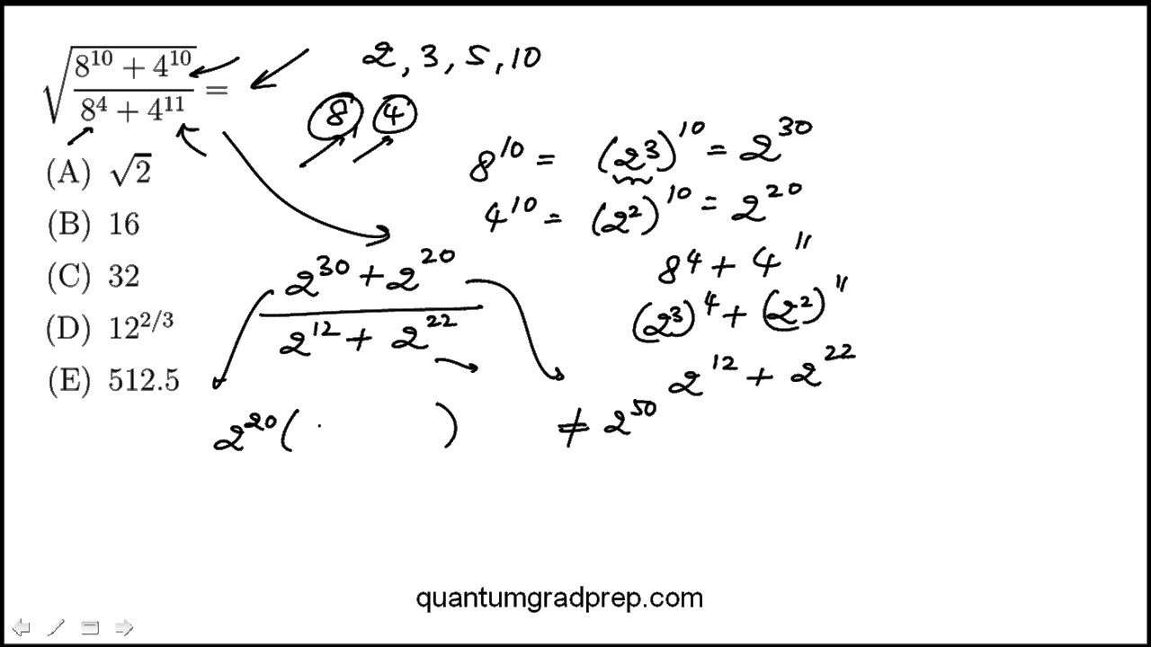 Fun Practice and Test: Gre Math Practice Questions