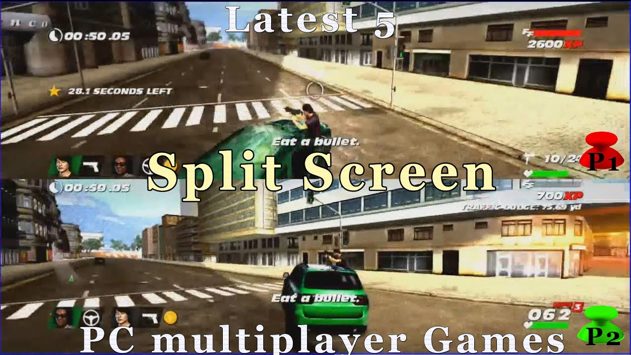 Latest 5 Local Co Op Splitscreen Pc Multiplayer Games