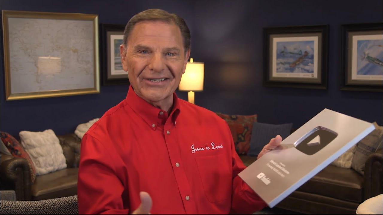 Kenneth Copeland Earns YouTube Silver Creator Award