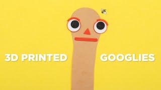 3D Printed Googly Eyes (make everything better)