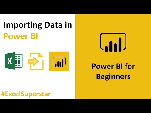 Importing Data in Power BI from Excel | Power BI Tutorial