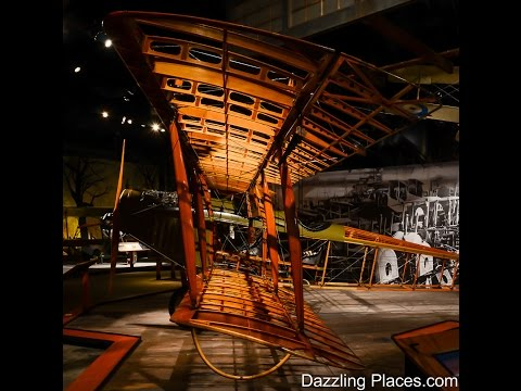 The World War 1 Aircraft Exhibition at Seattle's Museum of Flight