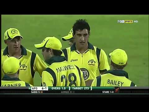 Only ODI: Afghanistan VS Australia HD full highlights