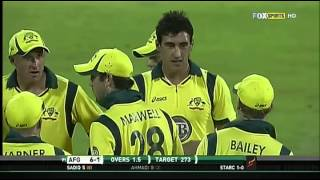 Only ODI: Afghanistan VS Australia HD full highlights