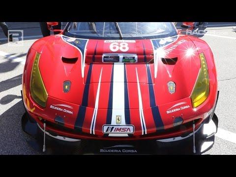 RACER: Ferrari 488 Road to GTLM Comparison