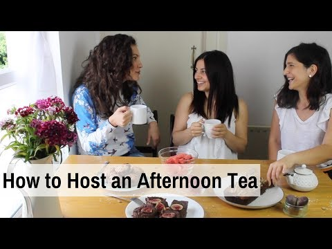 HOW TO HOST AN AFTERNOON TEA PARTY | Afternoon Tea Recipes - Christina Tsiripidou