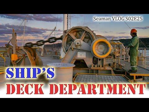 Cargo Ship's Deck Crew | Seaman Vlog