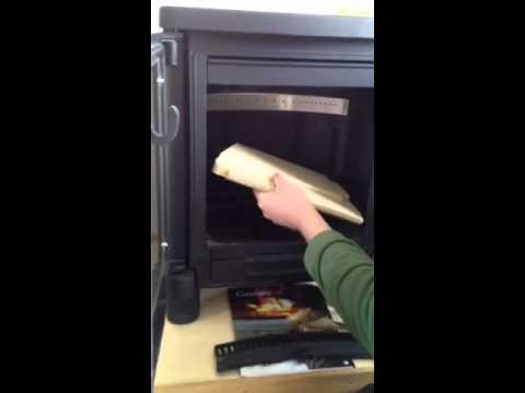Fitting fire bricks in Handol/Contura 51