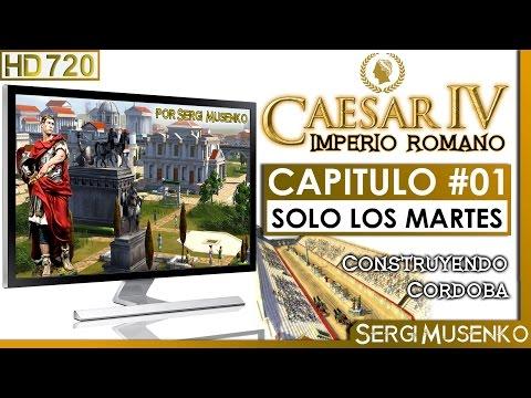 Caesar IV Gameplay Español Fundando Cordoba Capitulo 1