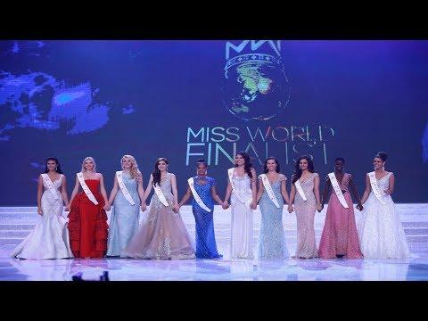 Miss World 2017 Top 10 Announcement