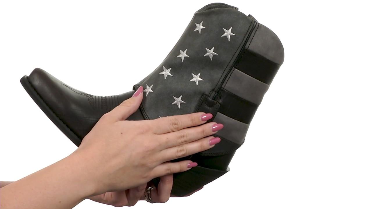 0da96a8ca4 Durango Crush Fold Down Flag Boot SKU 8915924 - YouTube