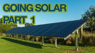 Going Solar Part 1 - Installing a 4kW PV Array at the Automated Home
