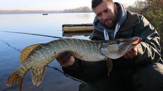 Fishing Duell 2 Johnny VS Melle #Wer fängt den Meterhecht#Hecht angeln im Pott#Wathosen Angeln