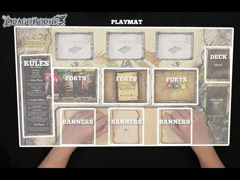 Dragoborne How to Play Episode 3: Playmat & Set-up