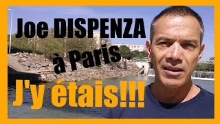 Dr Joe Dispenza à Paris, j