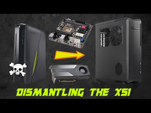 Dismantling the Alienware X51 - Transfering the X51's components to a new case (RVZ01)