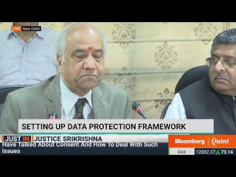 Justice BN Srikrishna Panel Submits Its Report On Data Protection Framework