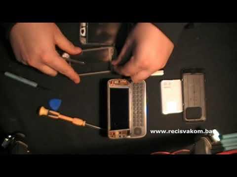 Prt 1: Nokia N97 Replace Touch Screen / Zamjena Touch Screen'a