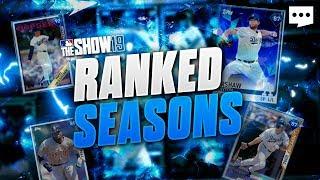 Ranked Seasons! Rating 349 All Diamond Squad MLB The Show 19 Diamond Dynasty