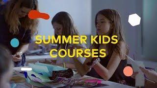Summer Kids Courses: el campamento de verano para pequeños creativos