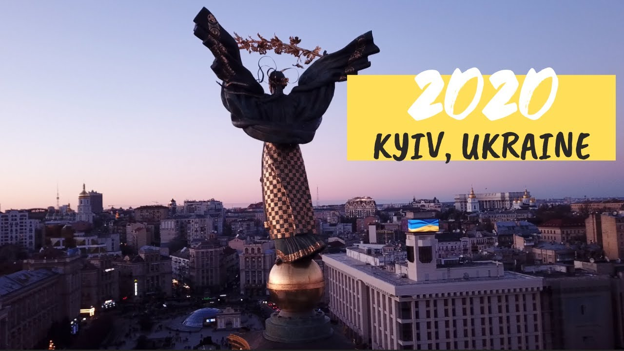 NEW YEAR 2020 Kyiv (Kiev) Ukraine – Journey Vlog