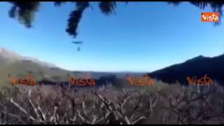 Il terremoto visto dai cacciatori in tempo reale: ''Scaricate i fucili''