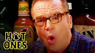 Tom Arnold Melts Down While Eating Spicy Wings | Hot Ones
