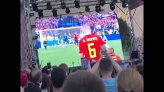 Футбол Россия vs Испания 1:1 по пенальти 4:3 Россия в 1/4 финала Чемпионата мира-2018!