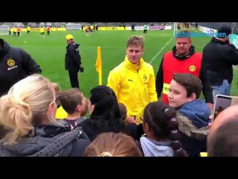 Öffentliches BVB-Training in Brackel am 25. Oktober