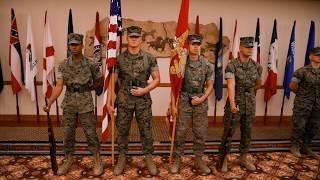 MGySgt Pine Retirement (30 Years)   Marine Corps
