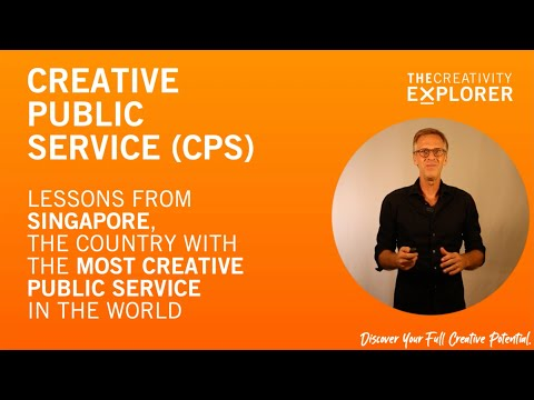 Amazing Creative Public Service Examples From Singapore. (The Creativity Explorer. Episode 78)