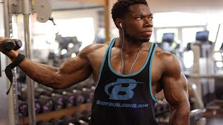 BIGGER ARMS IN 4 EXERCISES - KIZZITO EJAM | TEAM BODYBUILDING.COM