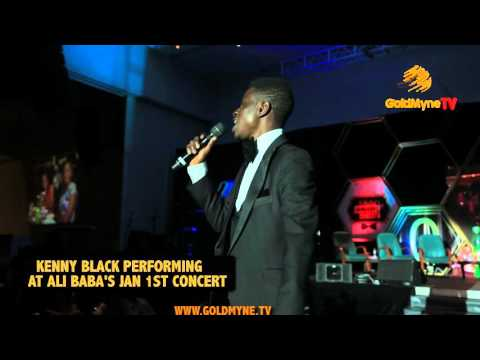 Video (stand-up): Awesome Performance by Singing Comedian Kenny Black at Alibaba January 1st Concert