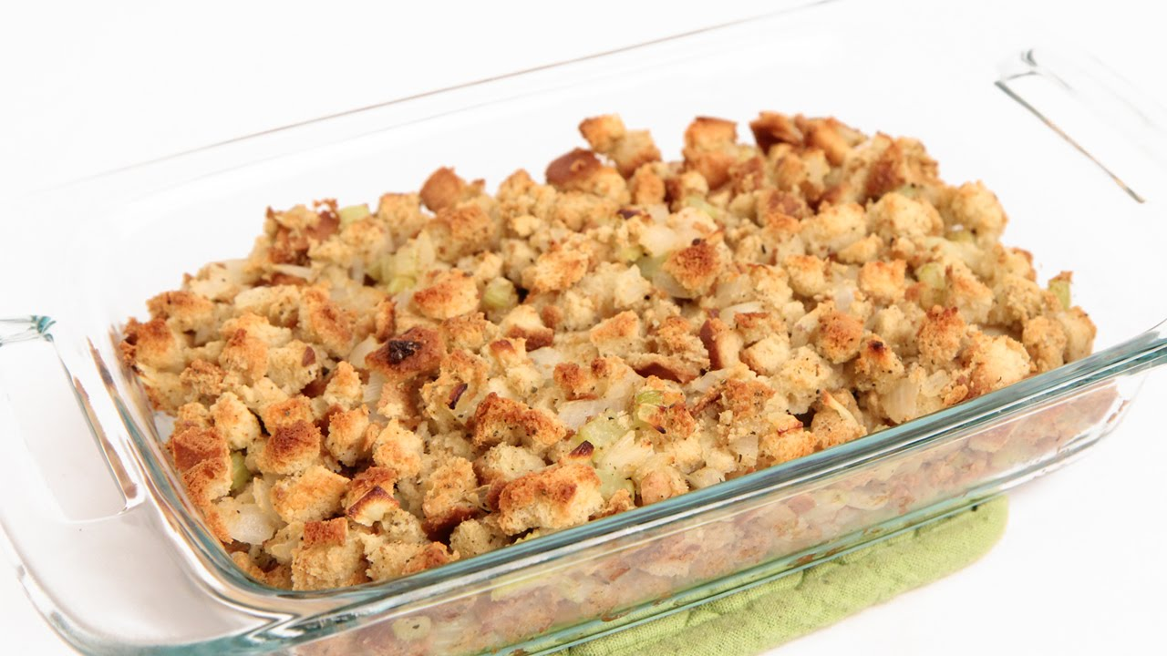 Classic Stuffing Recipe - Laura Vitale - Laura in the Kitchen Episode 843