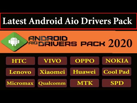 Latest Android AiO Drivers Pack Setup - Mobile Driver For Android - Update Mobile Driver 2020