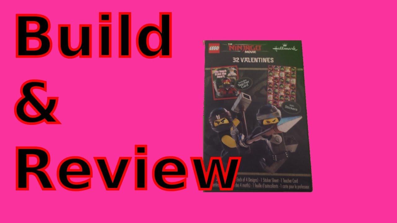 9bf3007ffbc9d1 Lego Ninjago Movie Valentines For my Youtube Friends