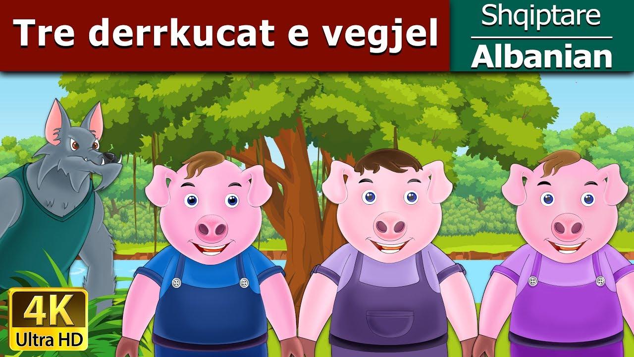 Tre Derrkucat E Vegjel Perralla Per Femije Kukulla Per Femije