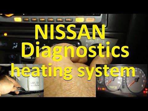 Не работает печка скоро зима. Nissan Sunny. The oven doesn\'t work !