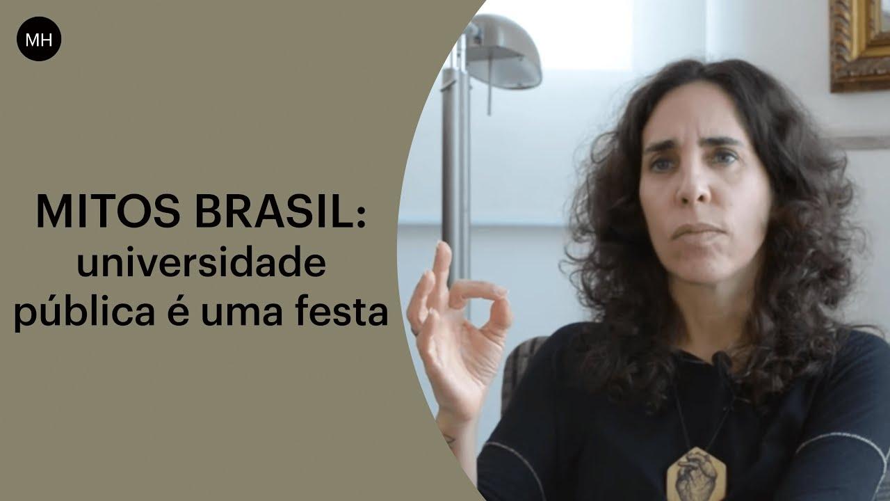 Anelise Pelada mitos brasil | universidade pública é uma festa