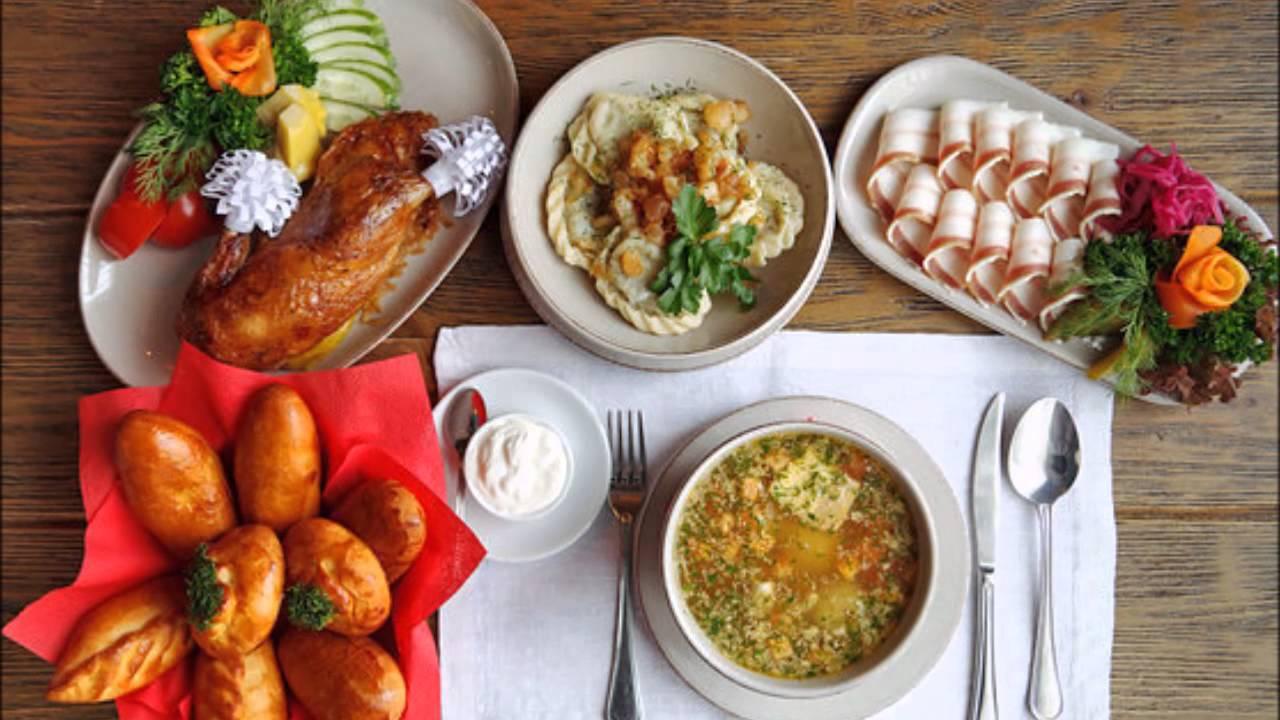 Рецепты национальной кухни украины