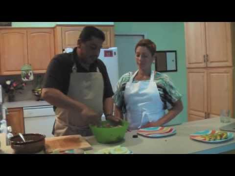 Sabor Latino Global - Interview and Cooking show with Salsa Musician Dave Santiago