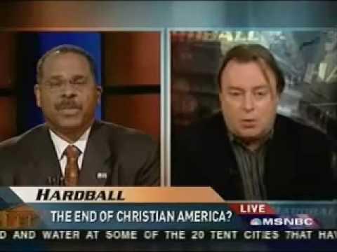 Ken Blackwell vs. Christopher Hitchens on Hardball