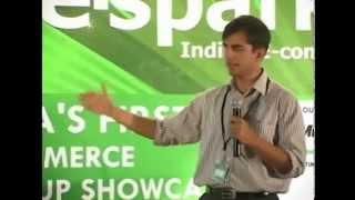 Bhavish Aggarwal, CEO   Co Founder at Ola Cabs, pitching at eSparks 2011